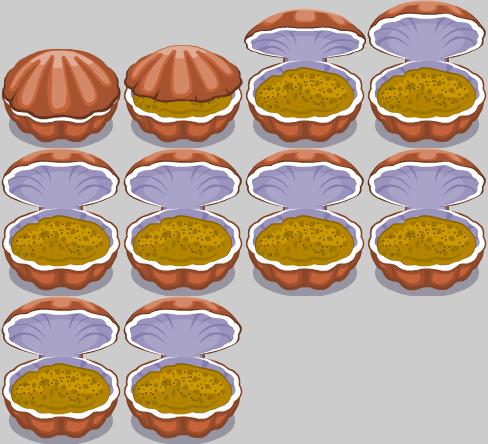 shell_open_sand_Spritesheet4x3